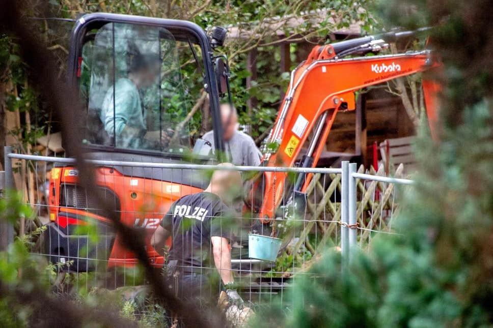 madeleinesearch2807a - CASO MADELEINE: Polícia realiza buscas em canteiro na Alemanha em busca de novas provas do crime