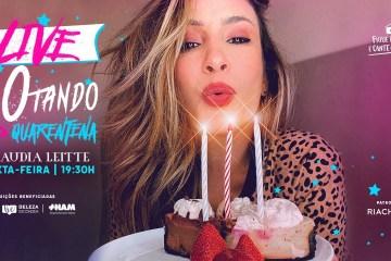 maxresdefault 1 - 40TANDO NA QUARENTENA: Claudia Leitte comemora aniversário com live especial nesta sexta-feira