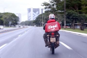 moto entrega - Entregadores de apps fazem greve nacional nesta quarta-feira