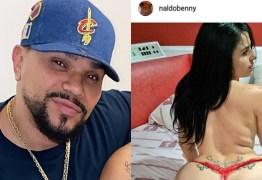 Instagram do cantor Naldo Benny é hackeado e invasor publica fotos eróticas