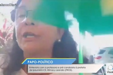 """rilmacy leandro - """"É normal morrer gente dessas gripes"""", afirma professora e pré-candidata a prefeita - VEJA VÍDEO"""