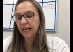 Secretária de Saúde de Cajazeiras chora ao falar sobre aumento de casos da Covid-19 – VEJA VÍDEO