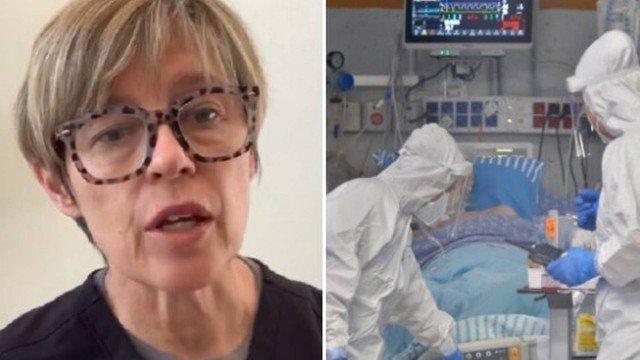 xblog nurse.jpg.pagespeed.ic .MJ odIs7Hr - Morrendo, paciente que foi a 'Festa Covid' diz a enfermeira: 'Achei que o vírus fosse fake'