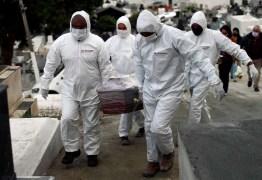 1 pessoa morre a cada 15 segundos no mundo por coronavírus