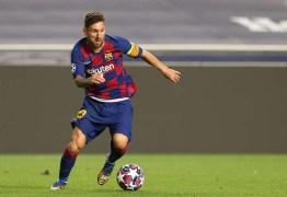 Messi pode assinar contrato por 3 anos com Manchester City
