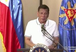 Presidente das Filipinas diz ter 'grande confiança' em vacina russa e se voluntaria para teste