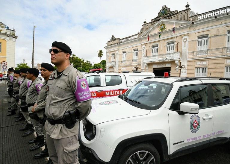 4827dcda 5315 4b37 b5d2 6f5575cff68a - Evento on-line marca primeiro ano da Patrulha Maria da Penha na Paraíba