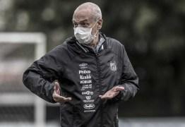 Sob risco de demissão, Jesualdo emenda pior sequência no Santos às vésperas do Brasileiro