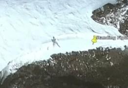 MISTÉRIO NO GELO: Caçador de ETs diz ter encontrado alien de 22m na Antártica – VEJA VÍDEO