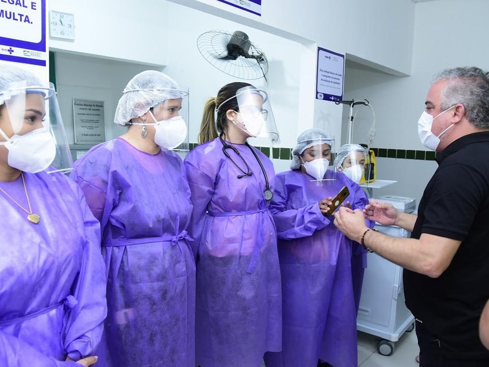 Alhandra - Prefeitura de Alhandra inaugura Pronto Atendimento 24h e entrega van para transporte de pacientes
