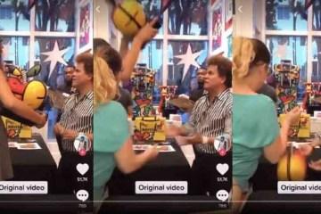 BB17XnTc - Dona de restaurante quebra obra Romero Britto na frente do artista - VEJA VÍDEO