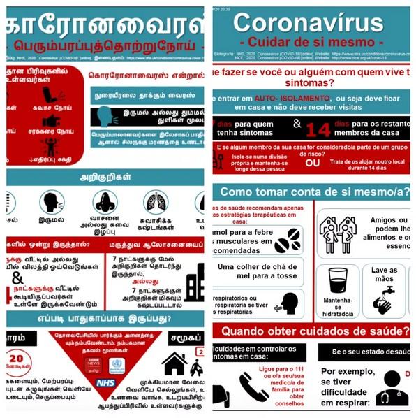 Capturarmkk 1 - SERVIÇO À SOCIEDADE: Médico combate fake news sobre Covid-19 com cartilhas em 40 línguas