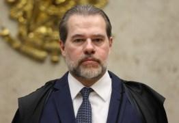 SINTOMAS LEVES: ministro Dias Toffoli tem resultado positivo para Covid-19