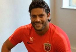 Hulk anuncia a despedida do futebol chinês