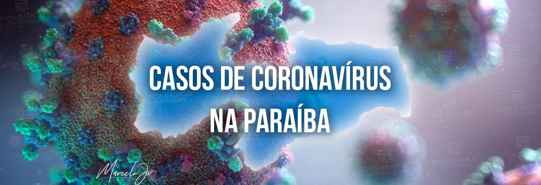 COVID-19: Paraíba registra 1.311 casos e 3 óbitos em 24 horas
