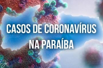 CORONAVÍRUS: PB passa de 89 mil casos confirmados e tem 1.965 óbitos