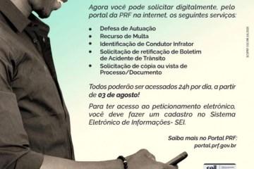 WhatsApp Image 2020 08 04 at 08.40.18 - PRF institui peticionamento eletrônico para agilizar a prestação de serviços ao cidadão