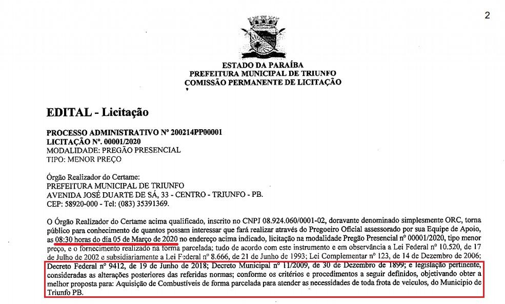 WhatsApp Image 2020 08 05 at 21.46.16 - NOTA: Espedito Filho, pré-candidato a prefeito de Triunfo, nega uso de laranjas em licitações no município