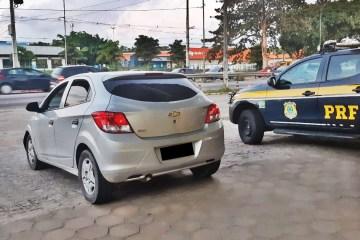 WhatsApp Image 2020 08 13 at 14.46.25 - PRF na Paraíba prende homem com  veículo com apropriação indébita após tentativa de fuga