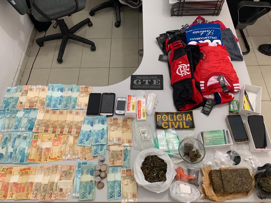 WhatsApp Image 2020 08 19 at 11.30.04 - 'Operação Lavras' combate o tráfico de drogas e desarticula grupo que praticava roubos Esperança e Areial