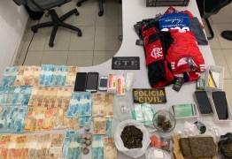 'Operação Lavras' combate o tráfico de drogas e desarticula grupo que praticava roubos Esperança e Areial