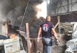 Polícia incinera uma tonelada de drogas ilícitas apreendidas na região de Campina Grande