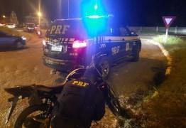 Motocicleta roubada e adquirida em site de compra e venda é recuperada pela PRF na Paraíba