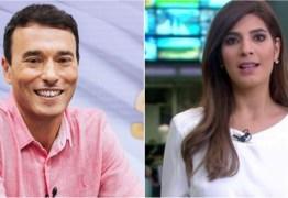 ROMANCE NO JORNALISMO: André Rizek revela ter casado com Andréia Sadi durante a quarentena