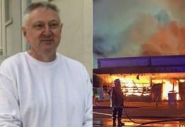 Dono incendeia supermercado para 'acabar com o coronavírus'