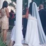 capa - Mulher invade casamento com criança nos braços e diz ser amante do noivo - VEJA VÍDEO