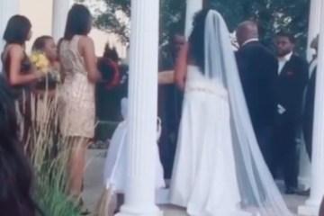 Mulher invade casamento com criança nos braços e diz ser amante do noivo – VEJA VÍDEO