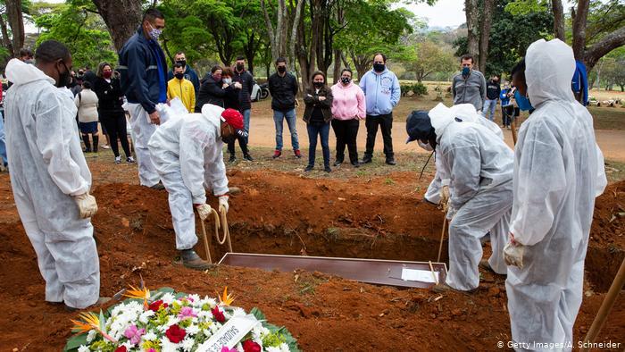 COVID-19: Brasil tem média de 1.022 novas mortes por dia; são 101.857 no total