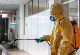 Aeroporto de Campina Grande passa por desinfecção nesta sexta-feira (14)