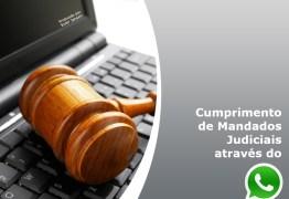 Oficiais de justiça de Campina Grande participam de curso para cumprir diligências por meio eletrônico