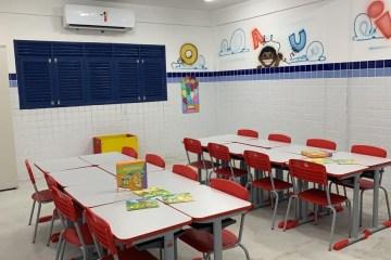 Prefeitura de João Pessoa entrega ampliação e climatização de escola no Cristo nesta segunda-feira