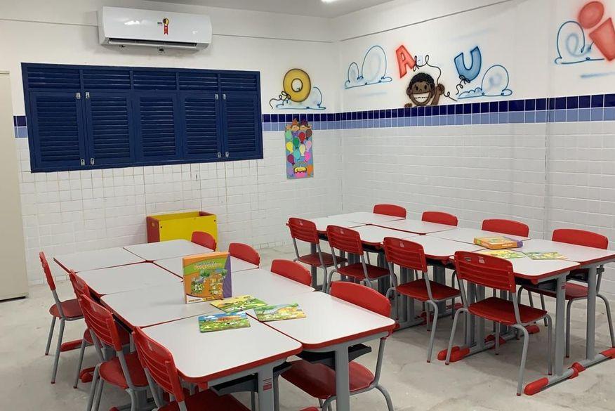 escola ampliada no cristo   secomjp - Prefeitura de João Pessoa entrega ampliação e climatização de escola no Cristo nesta segunda-feira