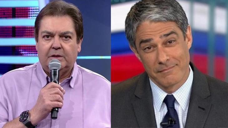 Globo pode perder Faustão e Bonner nos próximos meses
