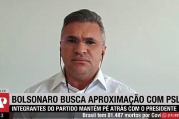 julian JP - Julian Lemos diz que Bolsonaro precisa pedir desculpas antes de voltar ao PSL - VEJA VÍDEO
