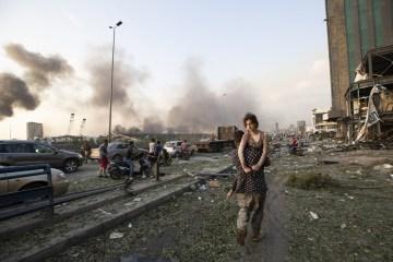 lebanon explosion beirut 03 - Governador afirma que quase metade de Beirute foi destruída por explosões