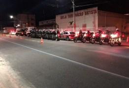 Mais de 20 motos são apreendidas para regularização do cano de escape, em João Pessoa