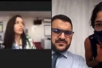 reporter e atingida por explosao durante entrevista ao vivo 1122411 - Repórter é arremessada no chão após ser atingida por explosão no Líbano - VEJA VÍDEO