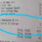 taxa - Bar gera revolta ao cobrar 'Taxa de Covid-19' ao clientes