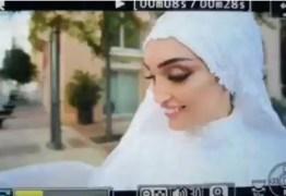 Casamento é interrompido com explosão em Beirute – VEJA VÍDEO