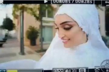 vide - Casamento é interrompido com explosão em Beirute - VEJA VÍDEO