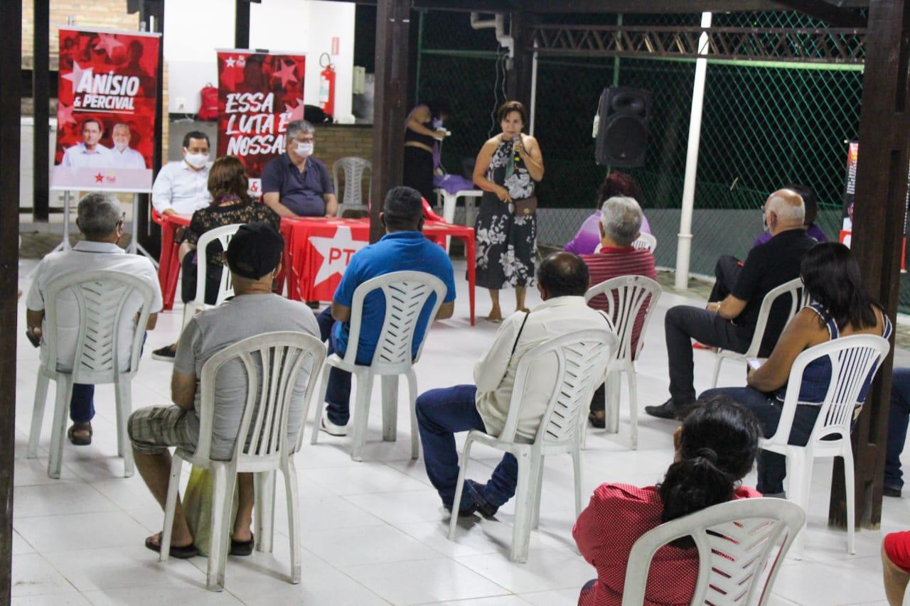 0 IMG 20200924 WA0222 - 'Unidade forte e indissolúvel': PT de João Pessoa reúne candidatos a vereador para ratificar o apoio às candidaturas de Anísio e Percival