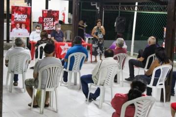 'Unidade forte e indissolúvel': PT de João Pessoa reúne candidatos a vereador para ratificar o apoio às candidaturas de Anísio e Percival