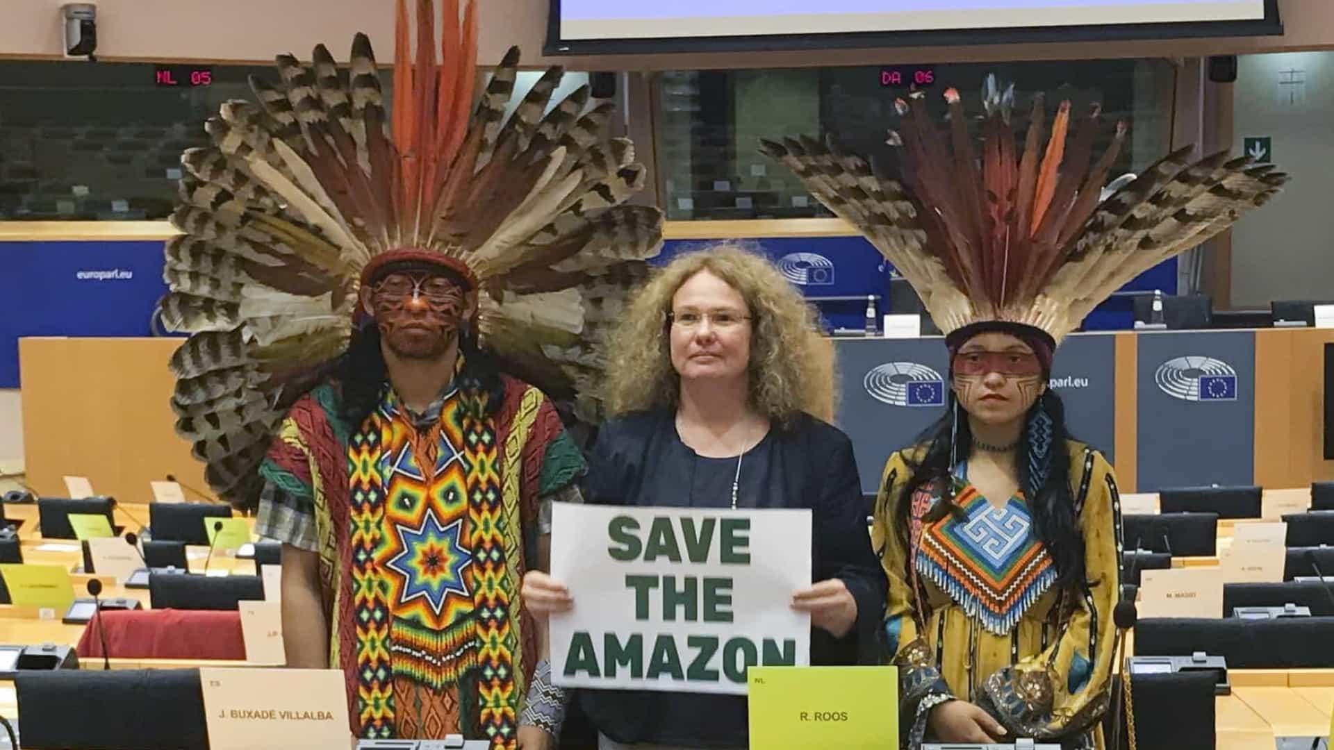 26977556 - Estudo diz que abrir terras indígenas pode prejudicar Brasil