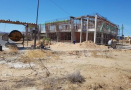 Construção do Campus do IFPB de Santa Luzia está em ritmo acelerado, confirma Efraim Filho