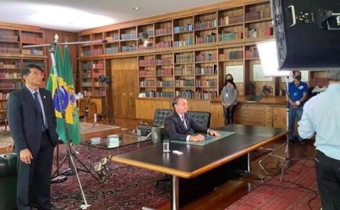BOLSONARO PRONUNCIAMENTO - ÀS 20H: Bolsonaro fará pronunciamento em rede nacional de rádio e TV neste domingo