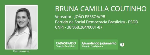 BRUNA COUTINHO 2 - Sobrinha-neta de Ricardo Coutinho é candidata pelo PSDB: 'em favor da cidade e dos animais'
